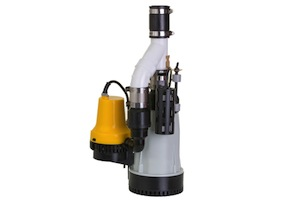 Picture of a Battery Backup Sump Pump